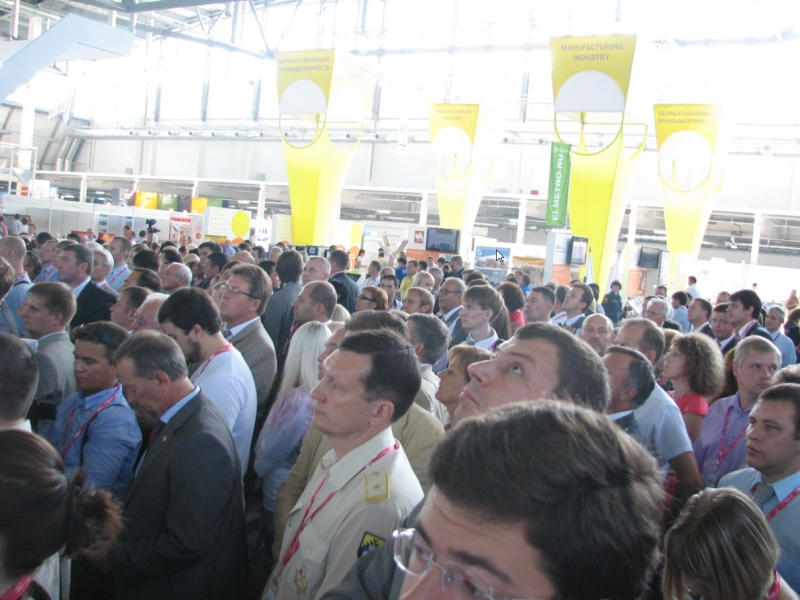 Киберлог на Иннопром 2012
